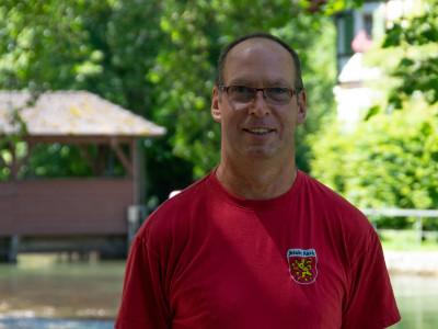 Bauhofmitarbeiter Martin Küchler
