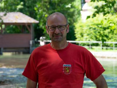 Bauhofleiter Christian Menzer