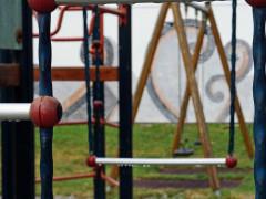 """Kletterturm auf dem Spielplatz """"Auf dem Ösch"""""""
