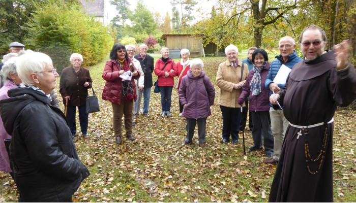 Ausflug des Sozialen Netzwerks Aach zur Klosterinsel Werd