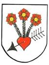 Wappen der Partnergemeinde Colmnitz, Quelle: Gemeinde Colmnitz
